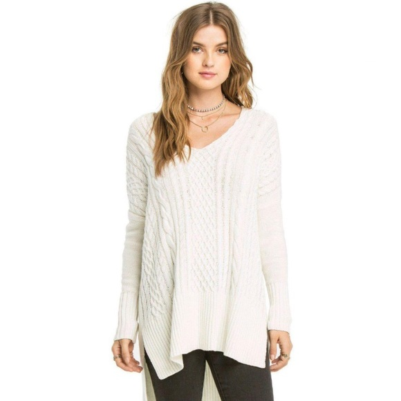 Amuse Society x Revolve Lauryn Sweater white